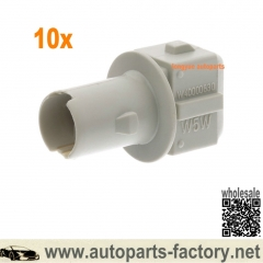 longyue 10pcs 03-10 Ford F250-F550 Super Duty Side Fen-der Marker Lamp Socket F8RZ13K371AA/93BG13A210AA