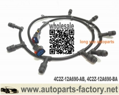 longyue 2004-2010 Ford 6.0L Diesel Glow Plug Harness Right & Left E350 E450 F250 F350 OEM