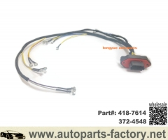 longyue Caterpillar 345D 349D C13 Injector Control Wiring Harness Part#418-7614,372-4548