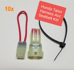 longyue 10kit Harness accessory seat belt bypass kit - Honda TALON 1000 R, Talon 1000 X Side by Side! HondaSxS