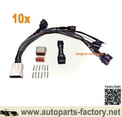 longyue 10set 1.8T to 2.0T Coil Conversion Harness & ICM Delete for VW Audi FSI Passat A4 B5