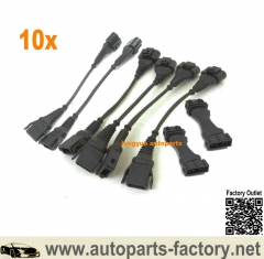 longyue 10set Audi B5 S4 C5 A6 ALLROAD 30V 2.7T IE Coil Conversion and ICM Delete Harness Set