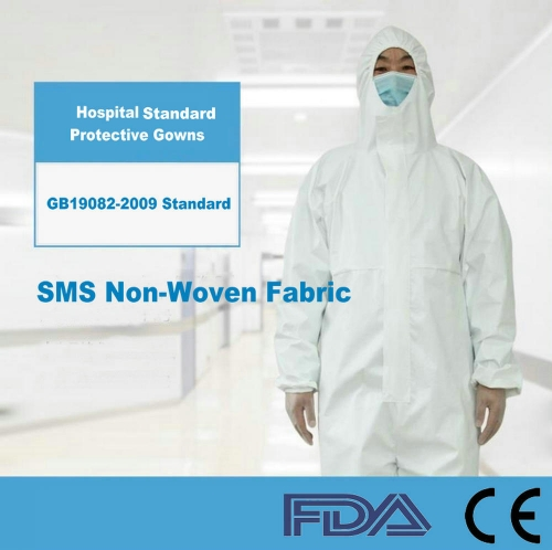 50x Special For Hospital Disposable Isolation Gown -Full Coverage - Level 1 ($7.8-$11.38/pcs, pack of 50)