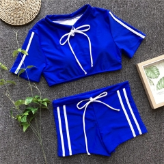 2019 Women Sexy Boy Short Sports Swimwear 4 Colors