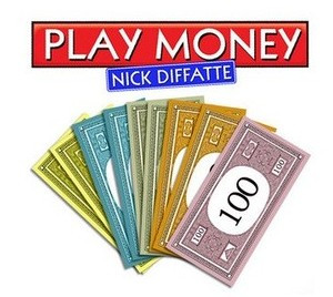 P3 Play Money by Nick Diffatte