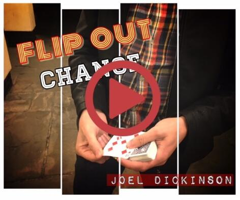 Flip Out Change By Joel Dickinson