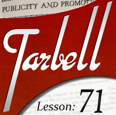 Tarbell 71 Publicity and Promotion