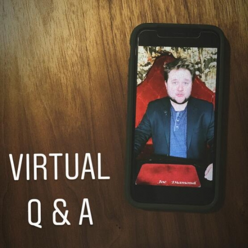 Joe Diamond – Virtual Q & A