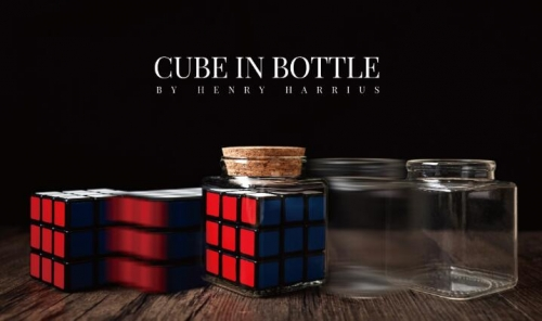 Cube In Bottle by Henry Harrius