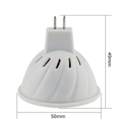 RANPO  MR16 4W (45W Equivalent) LED Spotlight Bulb 3528 SMD 80LEDs 6000K 400LM Cool/Neutral/Warm White AC 110V/220V