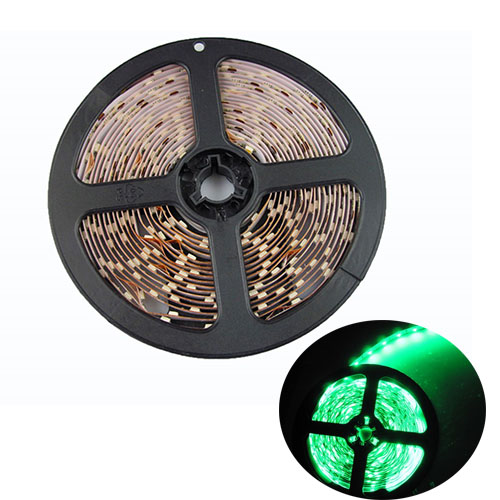RANPO Dimmable Green 24w LED Strip Light NON Waterproof 300 LEDs 3528 SMD DC 12V