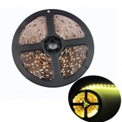 RANPO Dimmable Warm White 24w LED Strip Light NON Waterproof 300 LEDs 3528 SMD DC 12V