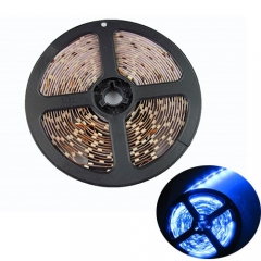 RANPO Dimmable Blue 24w LED Strip Light NON Waterproof 300 LEDs 3528 SMD DC 12V