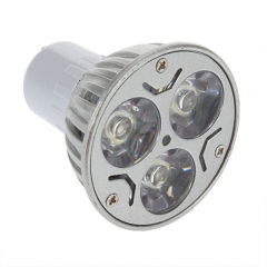 GU10 3W LED Down Light Bulb Lamp Aluminum Spot Light Warm White