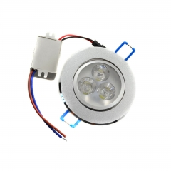 RANPO Dimmable 3W High Power LED Ceiling Down light Cool/ Warm White Recessed Lighting Fixture AC 85-265V