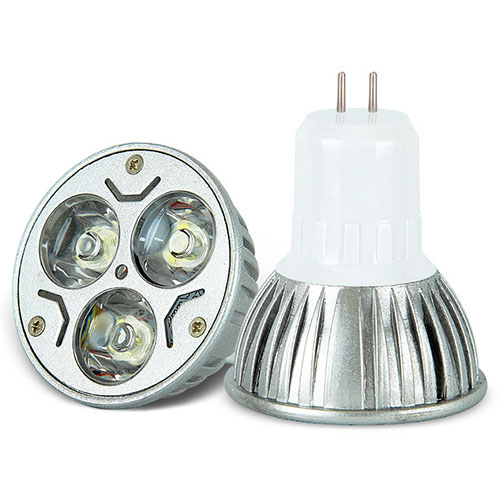 MR16 3W 12V LED Light Bulb Lamp Warm White Spotlight