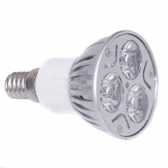 E14 3W LED Down Light Bulb Lamp Aluminum Spot Light Warm White