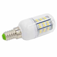 Dimmable E14 220V 4W LED Corn Bulb 48 LEDs 3528 SMD Cool White Warm White With PC Cover