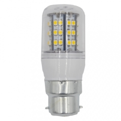 Dimmable B22 220V 4W LED Corn Bulb 48 LEDs 3528 SMD Warm White With PC Cover