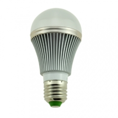 E27 5W Dimmable LED Bulb Spot Light Lamp High Power Aluminum Warm /Cool White 220V