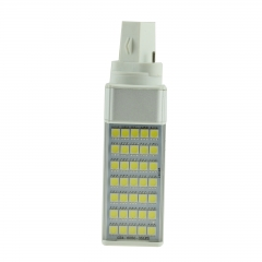 G23 7W 85-265V LED Horizontal Plug With Cover 5050 SMD Corn Light