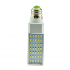 E27 7W 85-265V LED Horizontal Plug With Cover 2835 SMD Corn Light