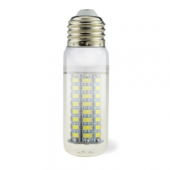 E26 5W 110V LED Corn Bulb 5730 SMD 72 LEDs Cool Warm White
