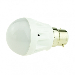 B22 3W LED Globe Bulb Light Lamp 220V Warm/Cool White