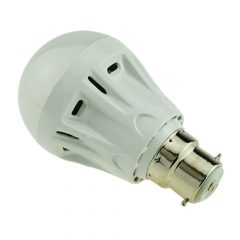B22 5W LED Globe Bulb Light Lamp 220V Warm/Cool White