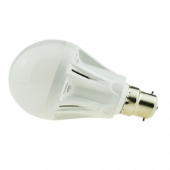 B22 7W LED Globe Bulb Light Lamp 220V Warm/Cool White