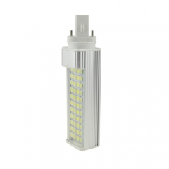 G23 85-265V 8W LED Horizontal Plug With Cover 5050 SMD Corn Light