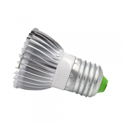 E27 PAR16 LED Spot Lamp Bulb 3W  PAR Light Not Dimmable