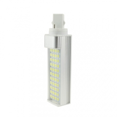 G24 85-265V 8W LED Horizontal Plug With Cover 5050 SMD Corn Light