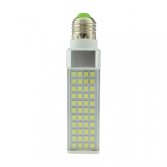 E27 85-265V 8W LED Horizontal Plug With Cover 5050 SMD Corn Light