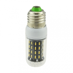 E27 3.5W AC 220V LED Corn Bulb 4014 SMD 56 LEDs Cool Warm White