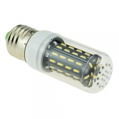 E27 3.5W AC 110V LED Corn Bulb 4014 SMD 56 LEDs Cool Warm White