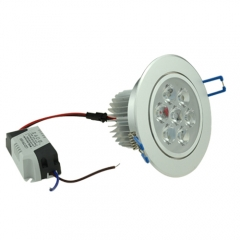 RANPO Dimmable 7W LED Downlight Recessed Light Bulb, AC 85-265V,50W Halogen bulb Equivalent