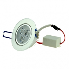 RANPO 3W High Power LED Ceiling Downlight Cool/ Warm White Recessed Lighting Fixture AC 85-265V ,300LM
