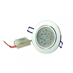 5W LED Downlight Recessed Ceiling Lighting Fixture,Warm White,Cool White,40W Halogen replacement