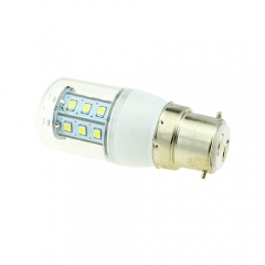B22 3W 21 LEDS LED corn bulb 2835 SMD Warm Cool White AC220V