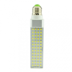 E27 85-265V 9W LED Horizontal Plug With Cover 5050 SMD Corn Light