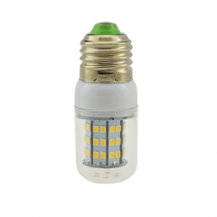 E26 9W 60 LEDS LED corn bulb 2835 SMD Warm Cool White AC110V
