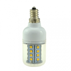 E12 5W 30 LEDS LED corn bulb 2835 SMD Warm Cool White AC110V