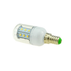 E14 3W 21 LEDS LED corn bulb 2835 SMD Warm Cool White AC220V