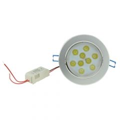 RANPO Dimmable 9W LED Recessed Light,AC 85-265 V,Warm White,640LM,60W Halogen Equivalent