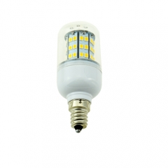 E12 9W 60 LEDS LED corn bulb 2835 SMD Warm Cool White AC110V