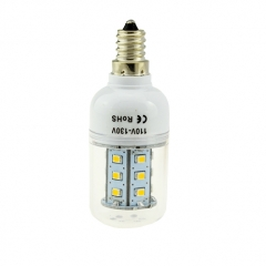 E12 3W 21 LEDS LED corn bulb 2835 SMD Warm Cool White AC110V