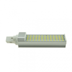 G23 85-265V 9W LED Horizontal Plug With Cover 5050 SMD Corn Light