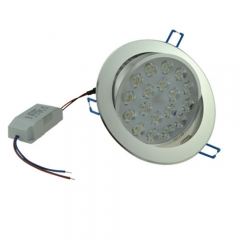 RANPO 18W LED LED Recessed Lighting, AC 85-265V,140W Halogen bulb Equivalent,1440LM