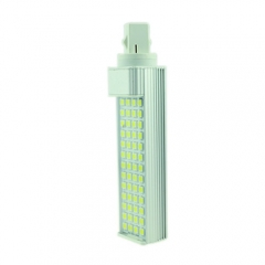 G24 85-265V 9W LED Horizontal Plug With Cover 5050 SMD Corn Light